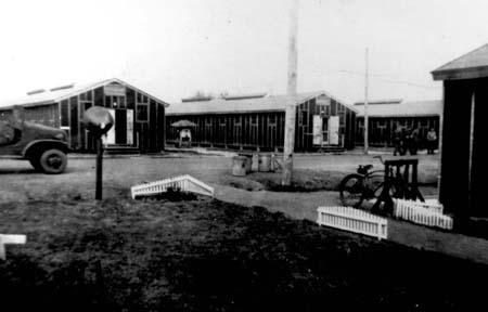 American Sector Barracks at Camp Hearne.